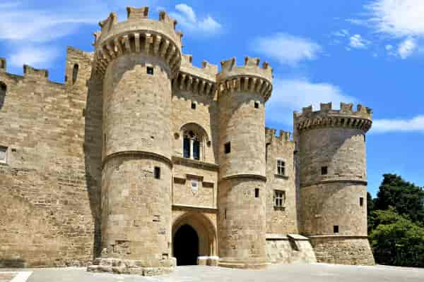 Medieval old city of Rhodes